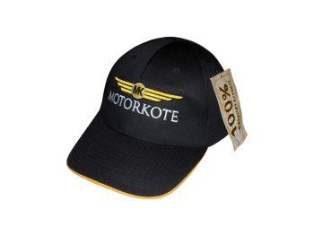 MotorKote Recycled Material Cap - Black