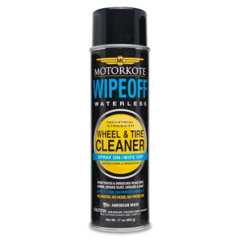 Motorkote WipeOff Waterless Wheel and Tire Cleaner (502ml)